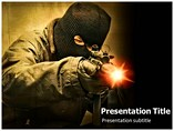 Terrorism Fear Powerpoint Template