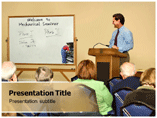 Mechanical Seminar Powerpoint Template