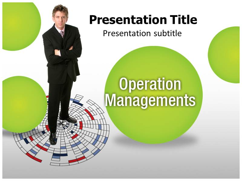 Operation Management PowerPoint Background