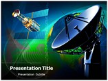 Satelite Radio Powerpoint background