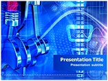 Six Stroke Powerpoint Template