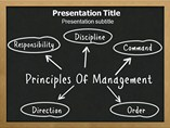 Principal Management Template PowerPoint