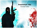 Terrorism Risk PowerPoint Template