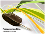 Digital Quill Powerpoint Template