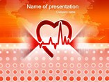 Healthy Beats of Heart - PPT Template