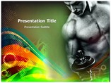 Fitness For Man Powerpoint Template
