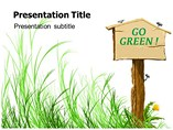 Go Green Eco Friendly Powerpoint Template
