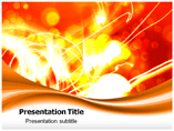 Flashing Light Emergency Powerpoint Template