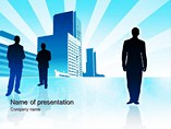 Business Careers PowerPoint Background