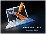 Laptop Repair Powerpoint Template