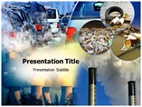 pollution powerpoint template