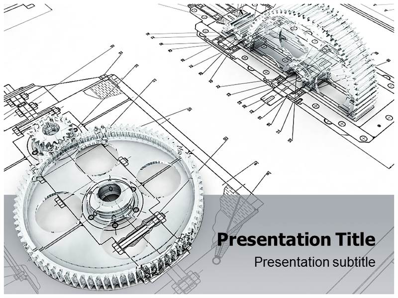 Mechanical Engineering Technology Powerpoint Template