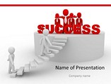Ladder of Success Template PowerPoint