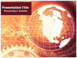 Global Information PowerPoint Background