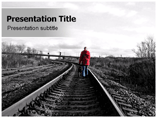 Walk Alone Powerpoint (PPT) Templates
