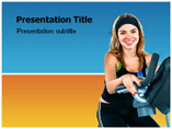 Women Health Powerpoint Template
