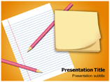 Notepad and Paper Powerpoint (PPT) Templates