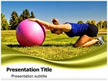 Back Exercise Powerpoint Templates