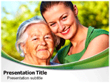 Generation Gap Band Powerpoint Template