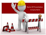 business powerpoint templates-Under Construction