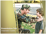 Military Family Powerpoint Template