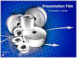 Paper Roll Powerpoint Template