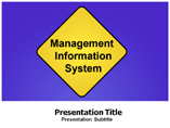 Management Information System Template PowerPoint