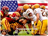 American College football PowerPoint Templates