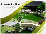 Chinese Architecture Powerpoint Template