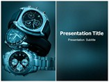 Wrist Watch Phone PPT Templates