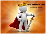 The King Powerpoint (PPT) Template