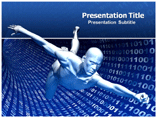 Virtual Man Powerpoint (PPT) Templates