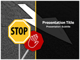 Road Rules Powerpoint Templates