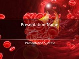 Medical powerpoint templates - Blood Cells 