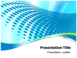 Blue Abstract Wave Powerpoint Templates