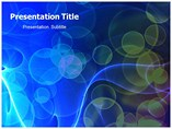 Bokeh Abstract  Powerpoint Templates
