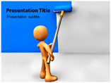 Wall Painting Powerpoint Template