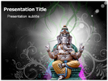Lord Ganesha Powerpoint Template