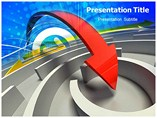 Arrow Abstract Powerpoint Template