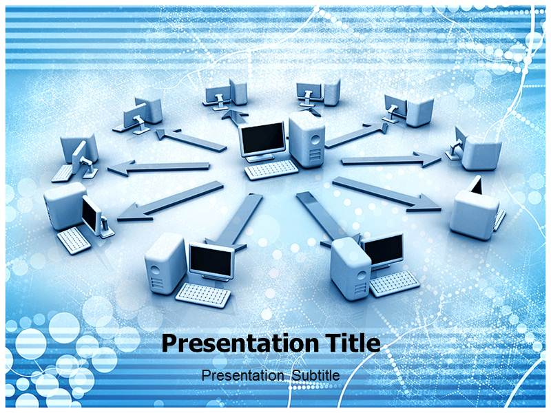Self Defending Network Template PowerPoint