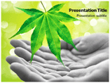 Caring For Nature Powerpoint Template