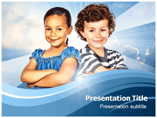 Child Diversity Powerpoint Template