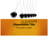 Newton Cradle Powerpoint Template