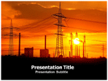 Power Utility Powerpoint Template