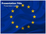 European Flag Powerpoint Template