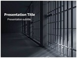 Prison Bars Clip Art PowerPoint Template
