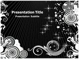 Black And White Pokemon Powerpoint Template