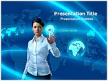 Finger Access Powerpoint Template