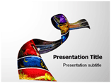 Ribbon Halloween Powerpoint Template