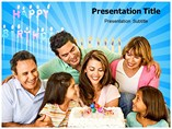 Mom Birthday Powerpoint Templates
